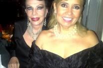 """Yolanda Montes """"Tongolele"""" y Carla Estrada"""