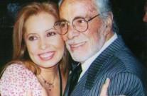 Carla Estrada y el señor Ernesto Alonso