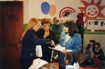 Carla Estrada, Juan Gabriel y Mónica Miguel
