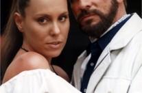 Azela Robinson y Alejandro Tommasi