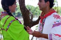 Adela Noriega y Raúl Araiza