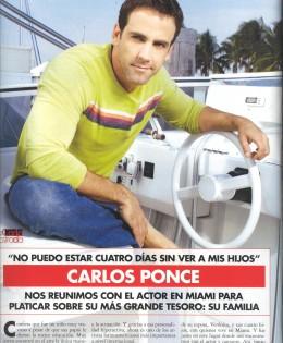 Entrevista a Carlos Ponce