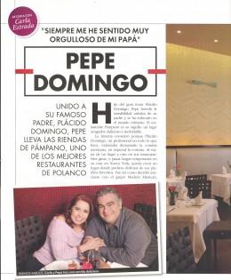 Entrevista a Pepe Domingo