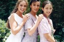 Lucero, Nuria Bages y Claudia Ramírez