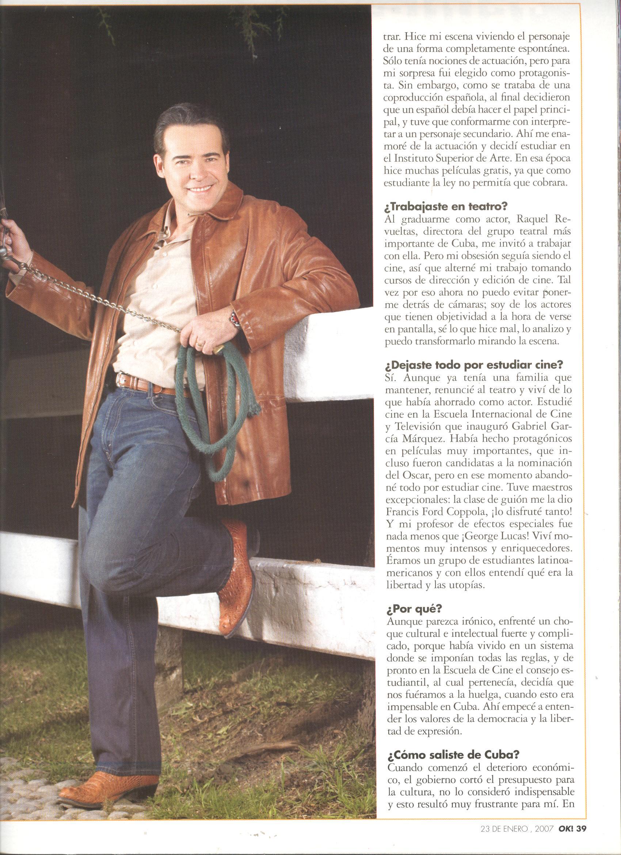 Entrevista A César évora Carla Estrada