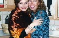 Carla Estrada con María Sorté