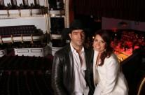 Carla Estrada con Pablo Montero