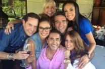 """Carla Estrada y conductores de """"Hoy"""""""