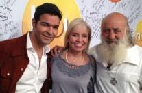 Pablo Montero, Carla Estrada y el maestro Shaya Michán