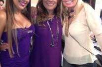 Liz Clapes, Diana Reyes y Carla Estrada