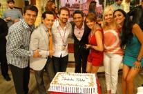 """Celebrando en el foro de """"Hoy"""""""