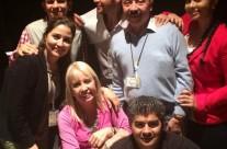 Con mi gran equipo. Los quiero!!!!