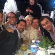 Con mis queridos jefes